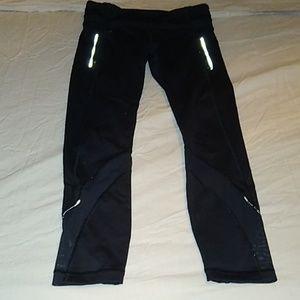 Lululemon leggings reflective size 4